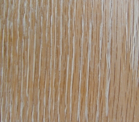 roble americano - proceso white wash = american oak - white wash process